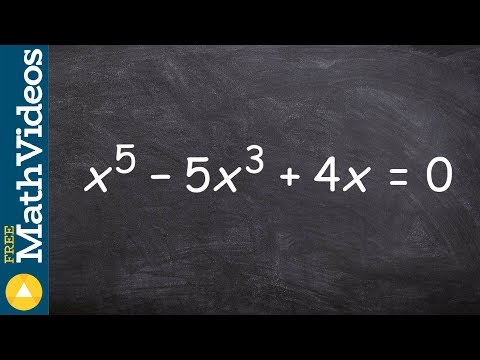 How To Find The Roots Of A Polynomials By Factoring