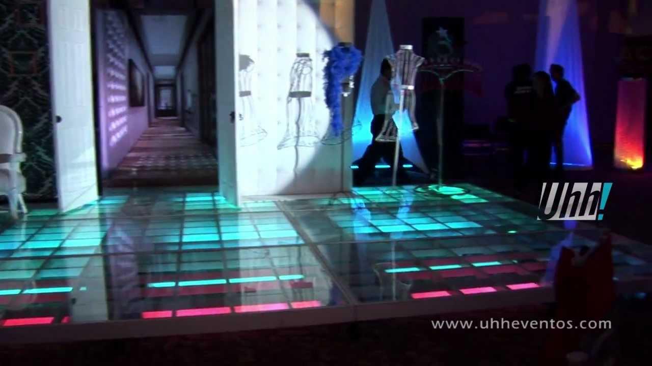 Pista de Baile Iluminada - Uhh Eventos - YouTube