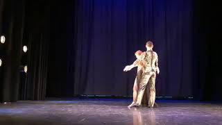 "*New Duet 2019* Mohamed kazafy & Dalma Izzo ""Aayez Temshi""-Stockholm Belly Dance Festival (Sweden)."