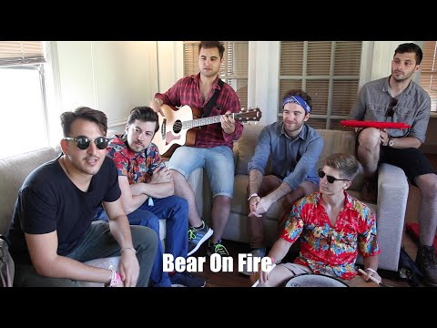 Bear On Fire does I'm On Fire (acoustic) @ SASQUATCH! Music Fest