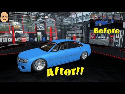 Car Mechanic Simulator 2015 - Mayen M8 Race - Full Rebuild (PC) Total modifications DLC |