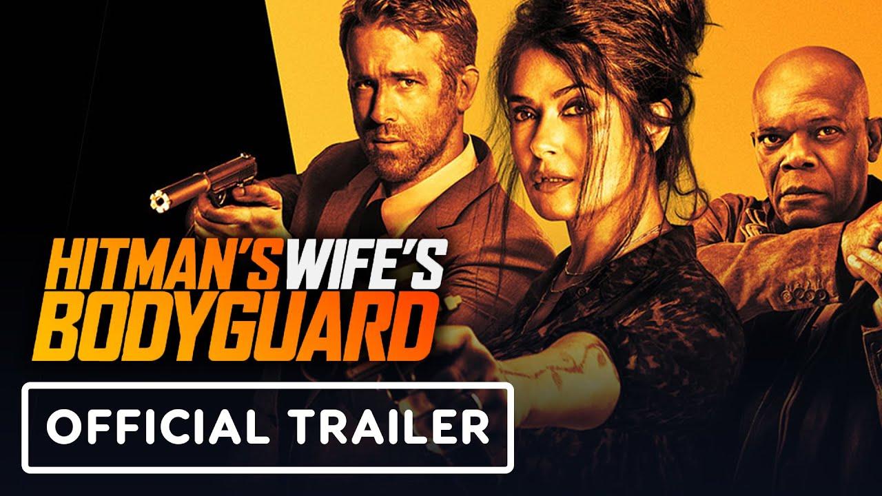 Hitman's Wife's Bodyguard - Official Trailer (2021) Ryan Reynolds, Samuel L. Jackson, Salma Hayek - YouTube
