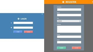 JAVA - How To Design Login And Register Form In Java Eclipse Swings/SWT/AWT/Windows Builder Part -1