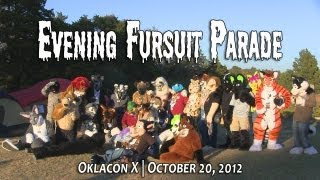 Oklacon Evening Fursuit Parade