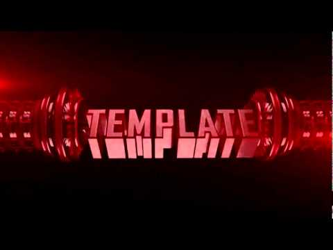 free youtube intro templates - free awesome cinema 4d intro template c4d file youtube