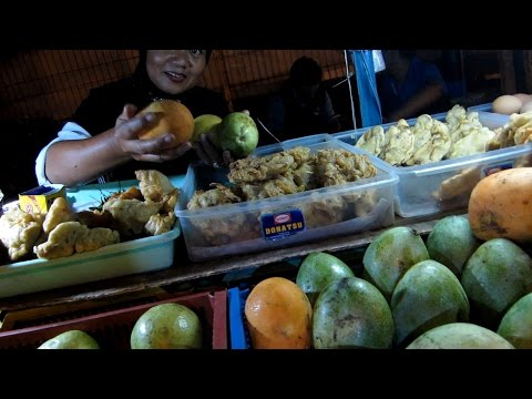 Jakarta Street Food 822 Mango,Apple and anothers Fruits etc Complete Stall BR TiVi 5559