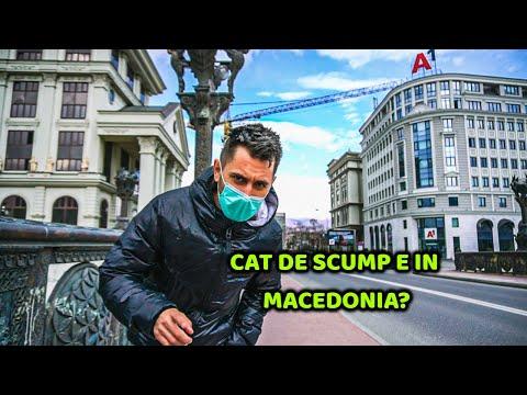 Cum arată Skopje, capitala Macedoniei de Nord