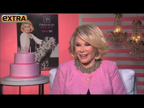 Joan Rivers on Turning 80: 'Celebrating It with My 80th Face'