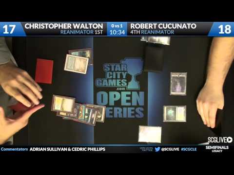 SCGCLE - Legacy - Semifinals - Christopher Walton vs Robert Cucunato