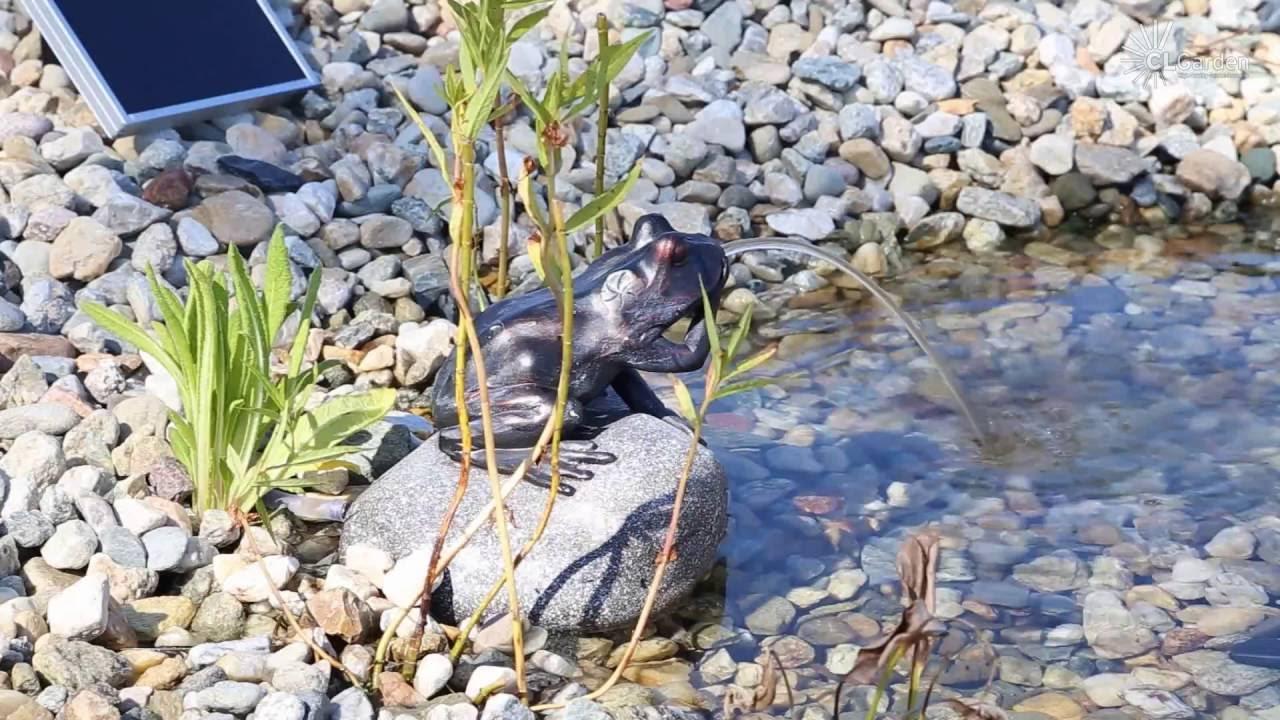 Lieblings CLGarden Solar Wasserspeier NSP10 Wasserspiel Springbrunnen für @US_39