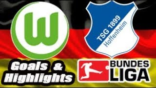 Wolfsburg vs Hoffenheim - 2018-19 Bundesliga Highlights #14
