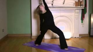 How to do Reverse Warrior II Yoga Pose