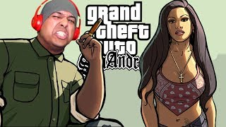 I'M CHEATING ON DENISE CAUSE I AINT NO BUSTER!  [GTA: SAN ANDREAS] [#04]