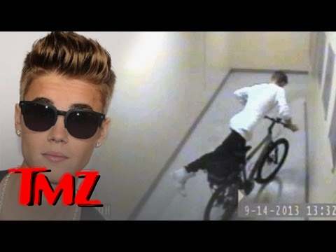 Justin Bieber and The Great Bicycle Heist! | TMZ