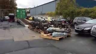 Запчасти из США (авторазборки Америки)(Авторазбор в США,запчасти б/у из США.Процесс разбора автомобилей,junk cars from USA,Junk yard in USA., 2014-10-23T16:03:30.000Z)