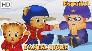 Daniel Tigre en Español ⛸️ Deportes Olímpicos en la Nieve 🏂   Videos para Niños