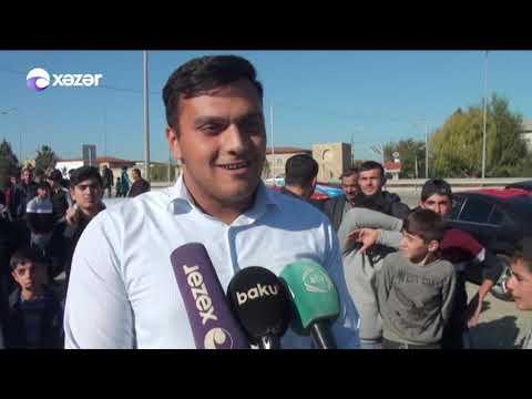 """Bölgələrimizdə möhtəşəm """"Bayraq yürüşü"""""""