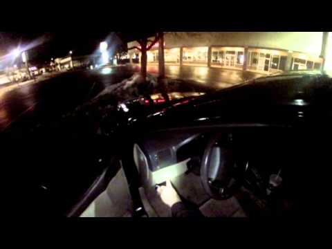 Night Run With A Single And A Double Header 3 Cars In 3 Hours - 02/22/2014