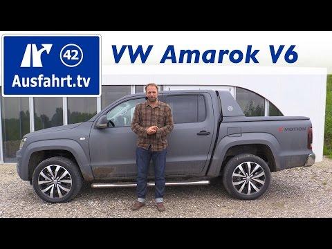 2016 Volkswagen Amarok 3.0 V6 Aventura - Fahrbericht der Probefahrt, Test, Review Ausfahrt.tv