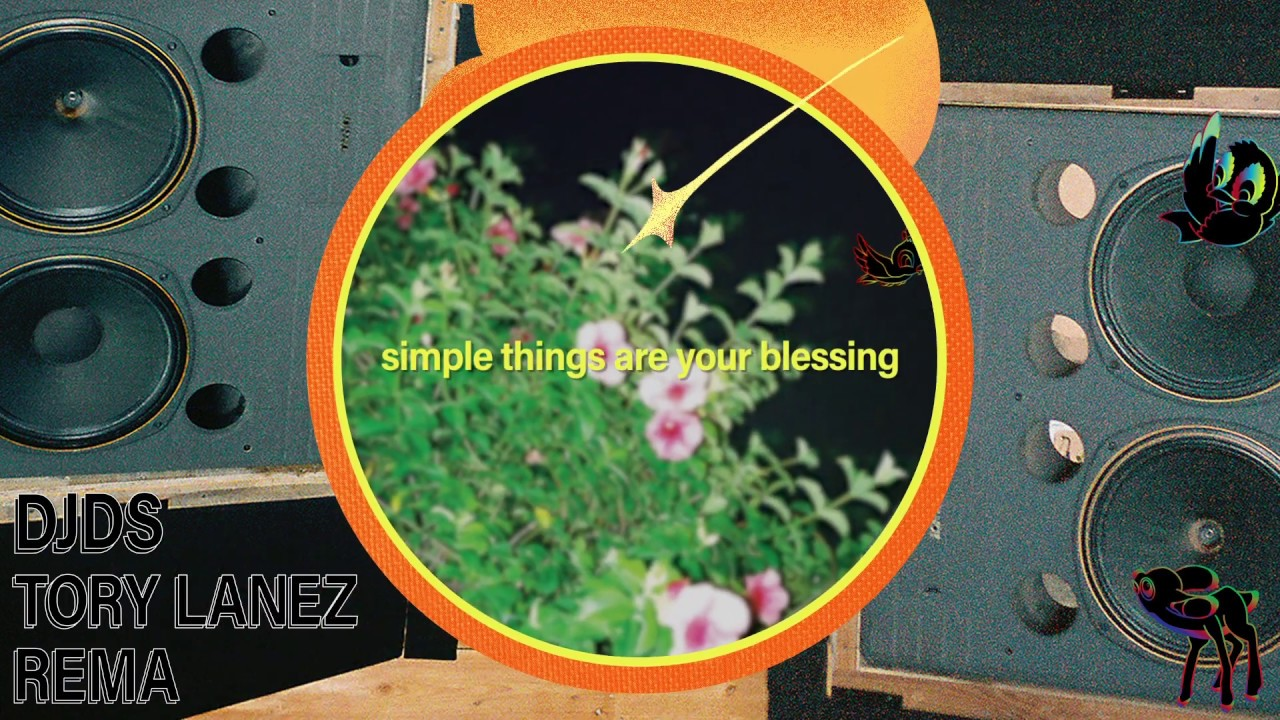 DJDS x Tory Lanez x Rema  - Simple Things (Lyric Video)