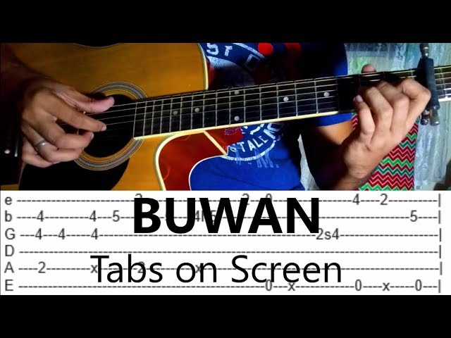 buwan-juan-karlos-labajo-fingerstyle-guitar-cover-tabs-on-screen-jp-isberto