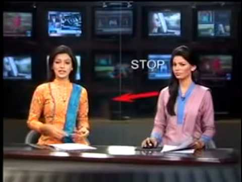 Pakistani news anchors bloopers