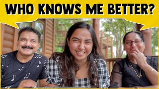 Who Knows Me Better? | Mamma or Baba? | #RealTalkTuesday | MostlySane