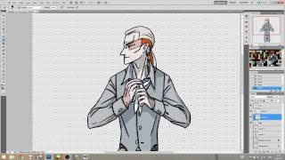 Рисую Ярослава (комикс «Ноосфера»), timelapse x16(Полный процесс рисования Ярослава (персонаж комикса «Ноосфера») для картинки-благодарности в Рейтинге..., 2016-07-13T19:54:30.000Z)