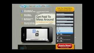 Paid Social Media Jobs - FULL Review & Tour! Get Paid To Play With Facebook, Twitter, & YouTube