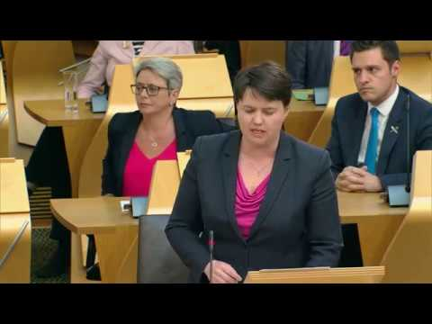 First Minister's Questions - Scottish Parliament: 18th May 2017