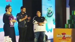 Kapil Sharma, Kiku Sharda And Archana Puran Singh At The Angry Birds Movie 2 Launch In Hindi