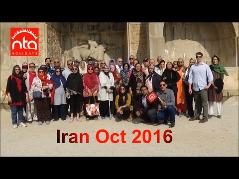 Iran Group Tour 2016 with NTA Holidays