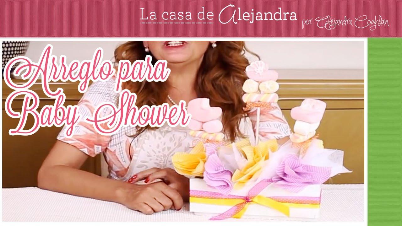 Arreglo para baby shower diy alejandra coghlan youtube solutioingenieria Images