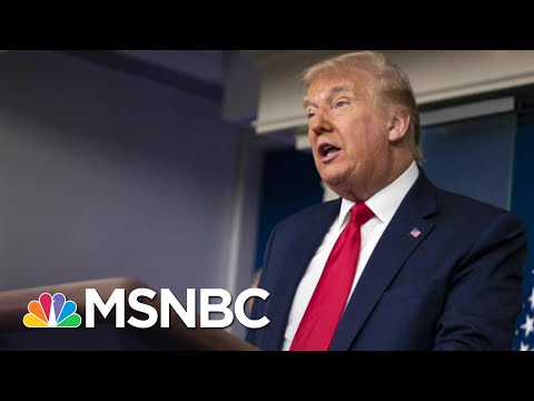 Trump Focusing On Re-Election Instead Of Coronavirus Crisis | The 11th Hour | MSNBC