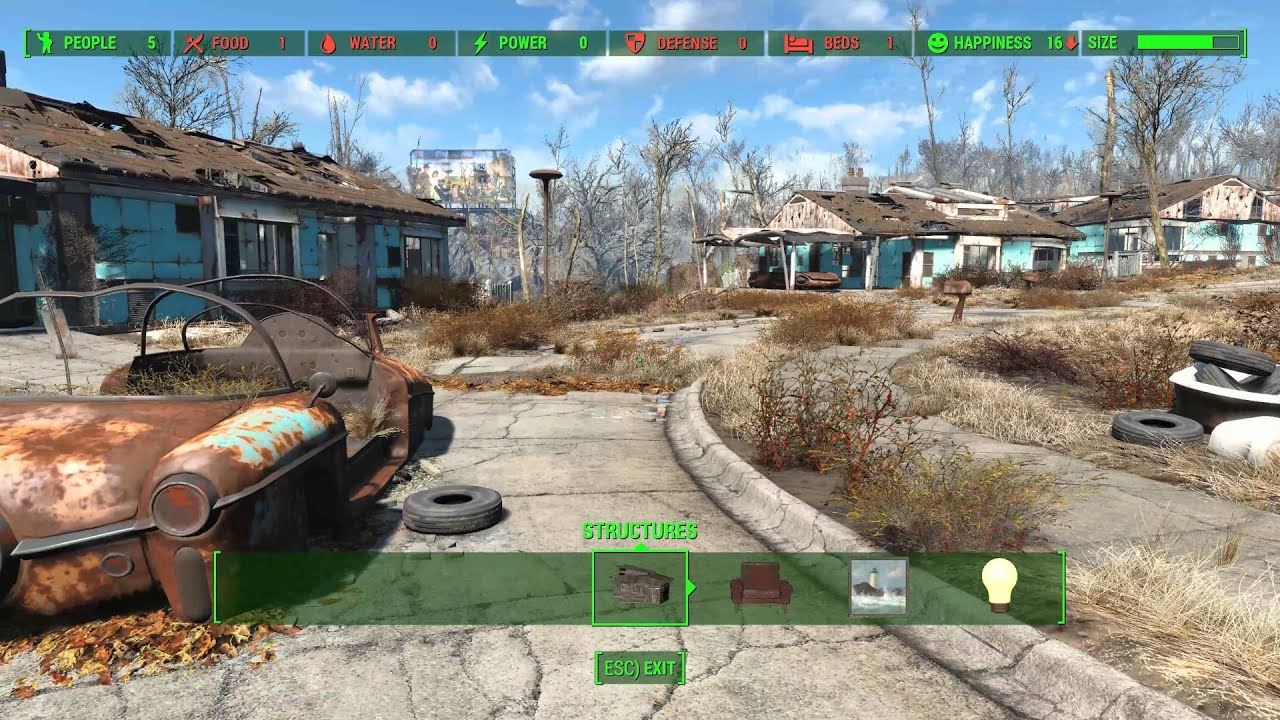 Fallout 4 Repairable Sanctuary Youtube