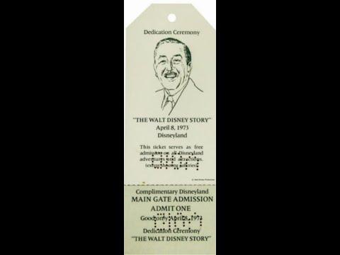 Youtube Walt Disney Story