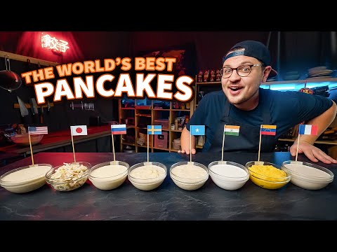 Around The World In 8 Pancakes