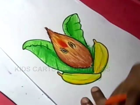 How To Draw Lord Ganesha Color Drawing For Kids Step By Step Youtube
