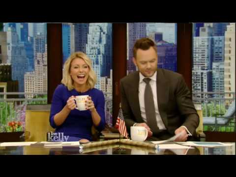 Live! With Kelly co host Joel McHale 06/08/16 Ethan Hawke (June 08, 2016)