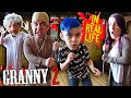 Granny Chapter 2 In Real Life (FUNhouse Family) FRONT DOOR ELECTRICITY FAIL!
