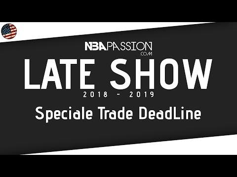 NBA Trade Deadline 2019 LIVE: tanti ospiti, Anthony Davis si muoverà?