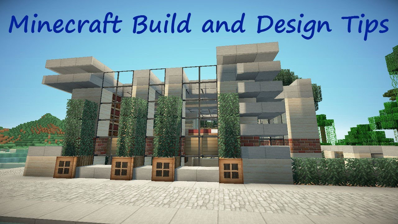 Minecraft build and design tips fences youtube workwithnaturefo