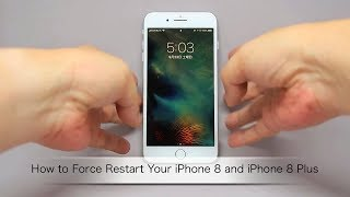 How to Force Restart Your iPhone 8 and iPhone 8 Plus(強制再起動)