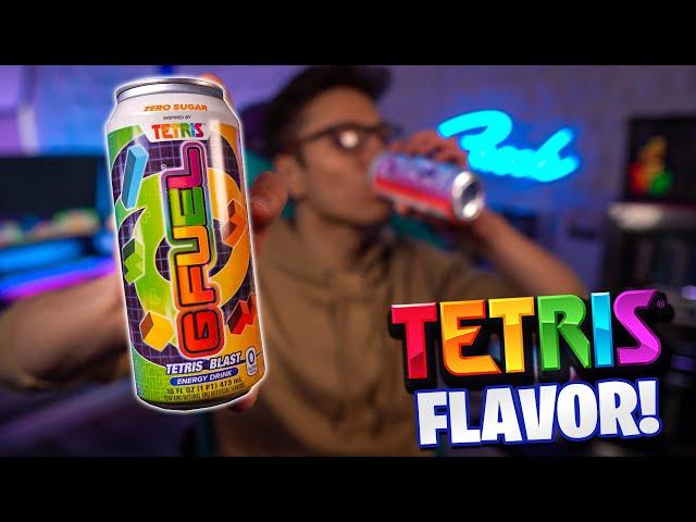NEW Tetris BLAST G-Fuel Flavor REVIEW! - YouTube