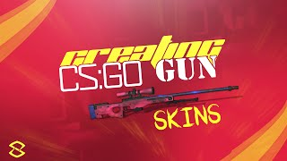 Photoshop CC Tutorial: Creating CS:GO Gun Skins (AWP SKIN)