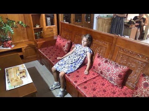 Китайская мягкая мебель. Выбираем диван - Жизнь в Китае #173