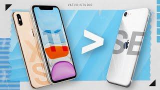 iPhone SE 2020 KHÔNG NGON BẰNG máy này