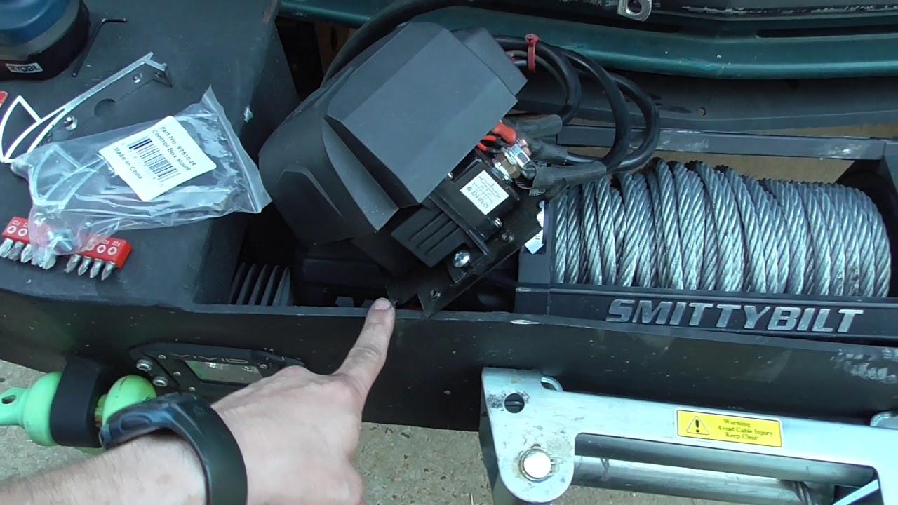 Yukon Update Winch Solenoid Relocation Fix Smittybilt X20 12k Switch Wiring Diagram Gen2