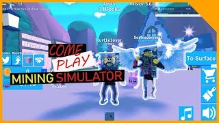 Come Join Sophia & SVBDAD - Mining Simulator - Epic Minigames - Speed Run + More!! - Roblox Live