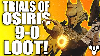 destiny trials of osiris lighthouse loot bulletproof medal gameplay brother vance loot x2